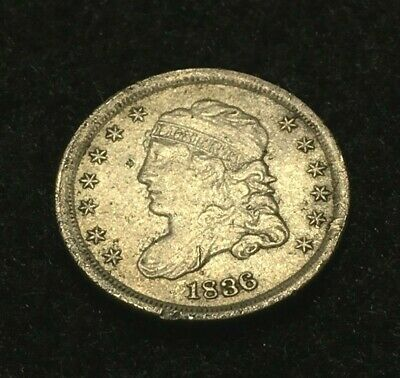 1836 Capped Bust Half Dime - XF