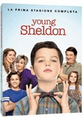 Young Sheldon - Stagione 1 (2 DVD) - ITALIANO ORIGINALE SIGILLATO -