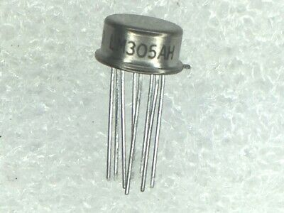 LM305AH NSC Pos 4.5V to 40V 0.045A 8-Pin 2 PIECES