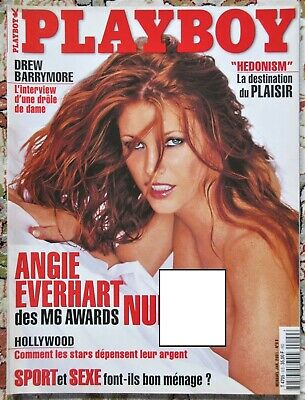 PLAYBOY n°9 S janvier 2001 Angie Everhart