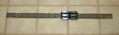 THK Linear Slide Bearing 78cm Rail w/2 of SHW21  Y4V026 Blocks & Screw