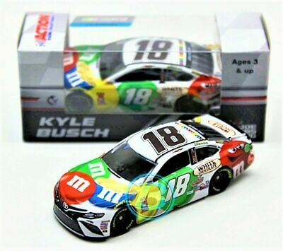2018 Kyle Busch #18 M&m White Chocolate 1/64 New In Box Free Ship