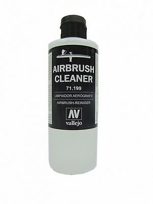 VALLEJO 71199 200ml Bottle Airbrush Cleaner Model Air Paints FREE SHIPPING