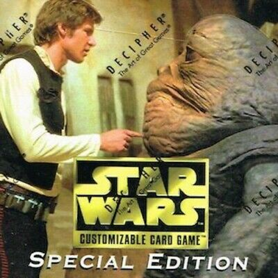 Rare Singles [choose card & condition] SPECIAL EDITION star wars ccg swccg