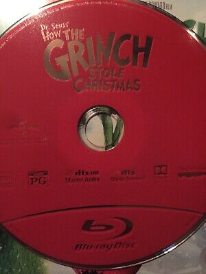 dr seuss how the grinch stole christmas blu ray only