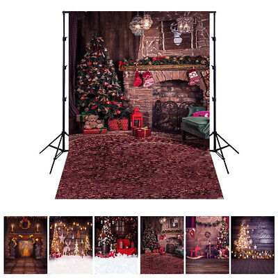 Andoer 1.5*2 meters / 5*7 feet Christmas Holiday Theme Background Photo W7S4