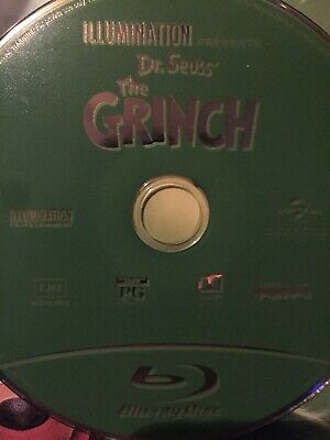 illumination presents dr seuss the grinch blu ray disc only