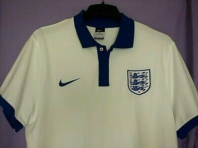 official ENGLAND travel/polo/media SHIRT by NIKE - size XL