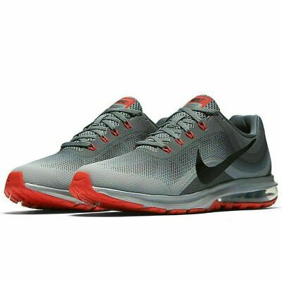 timeless design bec10 1b3df Nike Air Max Dynasty 2 Running Shoes Wolf Gray Black Red 852430-013 Men s  NWOB