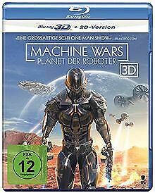 Machine Wars - Planet der Roboter [3D Blu-ray + 2D Version]... | DVD | état neuf