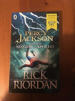 percy jackson and the singer of apollo World Book Day 2019 New Version