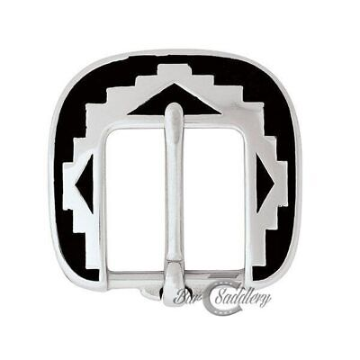 Plains Indian Stainless Steel Heel Bar Buckle for Horse Tack Headstall DIY