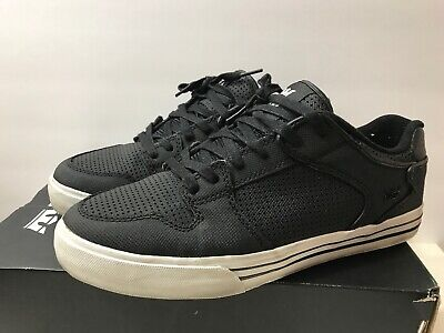 40988b92eba7 SUPRA VAIDER LOW Mens Size 7 Black And Red Action Leather -  35.00 ...