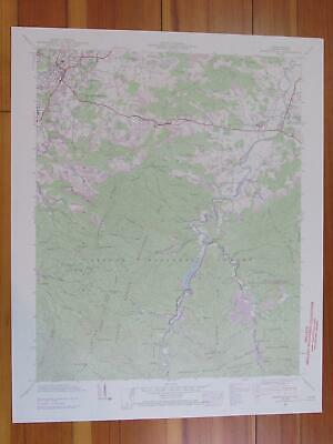 Waynesville North Carolina 1969 Original Vintage USGS Topo Map