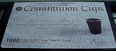 "Disposable Communion Cup 1-3/8"" Pack of 1000 by Swanson Christian Supply"