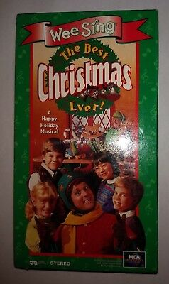 Wee Sing The Best Christmas Ever Vhs.Wee Sing The Best Christmas Ever Vhs 1995 Brand New Factory Sealed