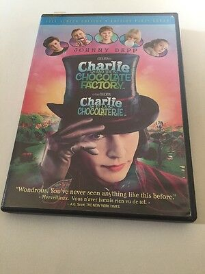 Charlie and the Chocolate Factory (DVD, 2005, FULLSCREEN)
