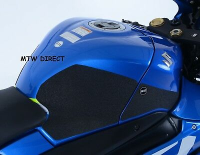 R&G RACING BLACK TANK TRACTION GRIPS PADS for  Suzuki GSX-R1000 (2019)