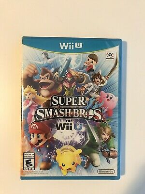 Super Smash Bros. Brothers Nintendo Wii U Game Brand New Sealed