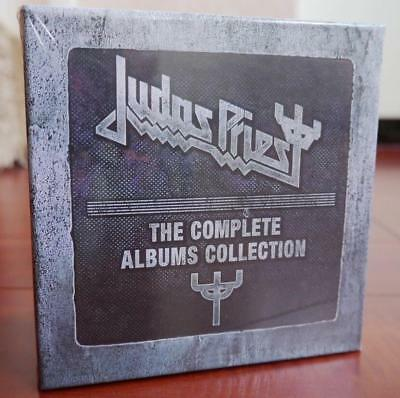 """Judas Priest """"The Complete Albums Collection"""" 19 CD Box Set Free shipping"""
