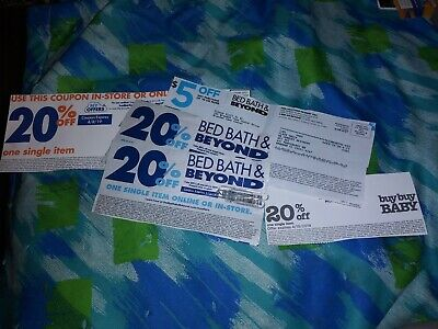 Lot Of Bed Bath & Beyond And Buy Buy Baby Coupons