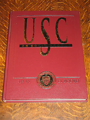 University Of Southern California USC 'EL RODEO' 1995 Yearbook ON SOLID GROUND