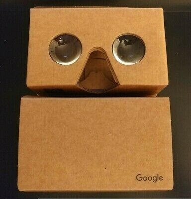 2 (Two) - OFFICIAL Authentic GOOGLE Cardboard VR Virtual Reality Viewers
