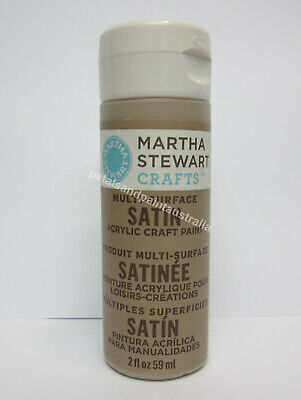 Martha Stewart Crafts Acrylic Satin Paint Decorative Art Root Beer Float 32073
