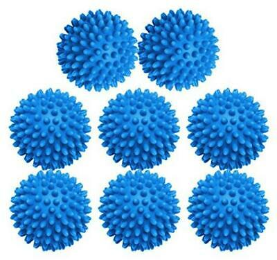 Dryer Balls 8 Pack - 3 Inch Non-Toxic Reusable 6969