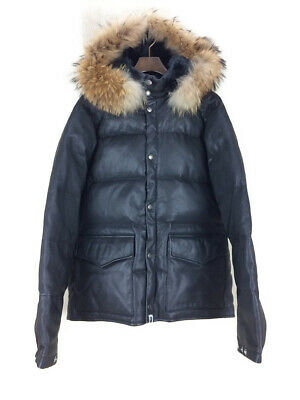 96f8c7192389 AUTH A BATHING APE Undefeated Classic Down Jacket Size M Lamb ...