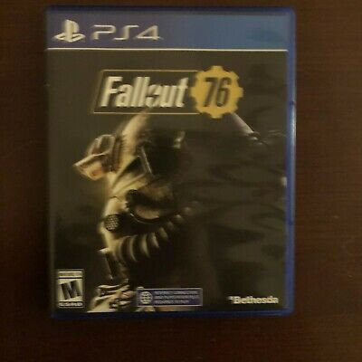 Fallout 76 PS4, Bethesda - Sony Playstation Game
