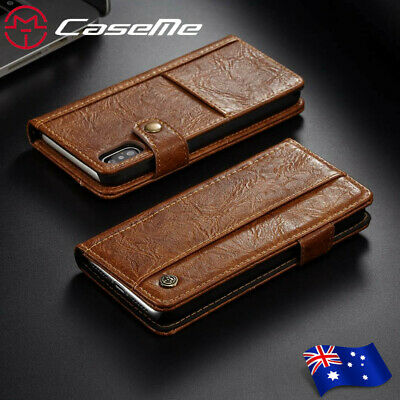 For iPhone X 8 7 6 Plus 5 SE Luxury Flip PU Leather Wallet Card Case Cover Stand