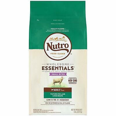 NUTRO WHOLESOME ESSENTIALS Adult Dry Dog Food ~ Lamb & Rice Recipe, 30 lb !!!