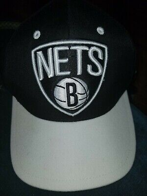 competitive price d7a9c 4a544 Authentic Mitchell   Ness Brooklyn Nets Hat snapback