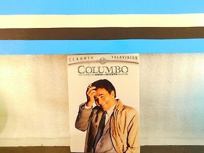 Columbo - The Complete Sixth& Seventh Season  ( 3-Disc set ) on DVD New Sealed