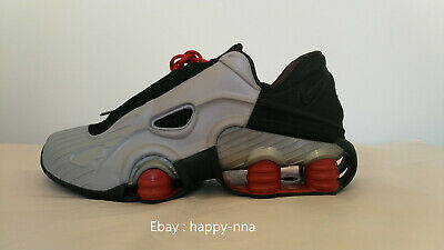 release date: 428b1 338f4 2001 Nike Shox XT 173327 001 Met Silver Black VRed Size 10 US Deadstock  With Box