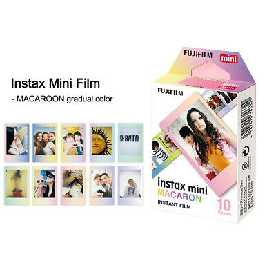 MACAROON Mini 10 Sheets KT Film Instant Print Paper for Instax 7s/8/25 N5G6