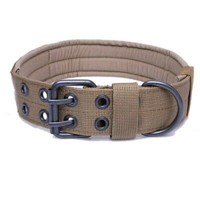 Adjustment Pin Buckle Military Tactical Training Vest Dog Collar Dedicated XL