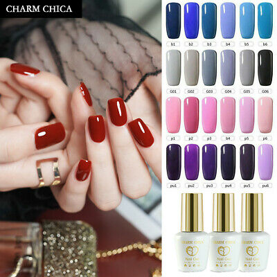 CHARM CHICA Collection Color Nail Gel UV/LED Soak Off Polish Professional 12ml