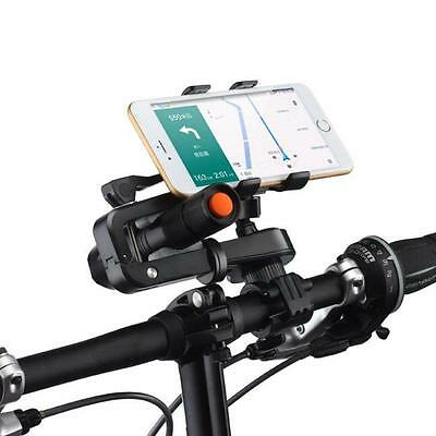 Bike Cycling Holder Handlebar Clip Stand Mount for Flashlight Cell Phone B