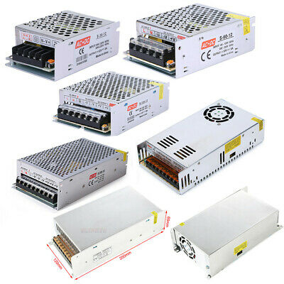 12V DC 3A 5A 10A 20A 30A 40A 50A Regulated Switching Power Supply for LED Strip