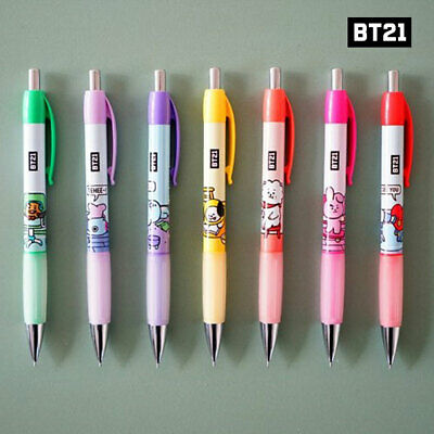 BTS BT21 Official Authentic Goods Sharp Pencil 7SET By Kumhong Fancy + Tracking
