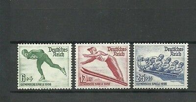 Germany. Third Reich. 1935. Sports, Winter Olympic Games ! Mnh Og ! Full Set !