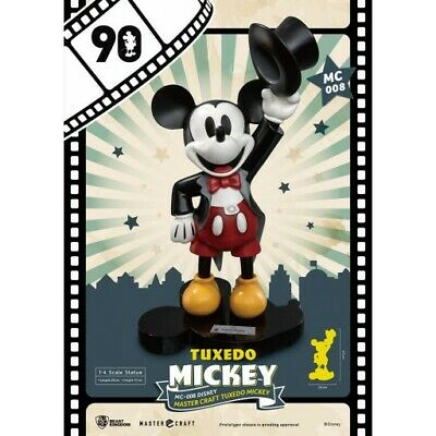 Disney Mickey Mouse Master Craft Statue Tuxedo Topolino 90th Anniversary MC-008
