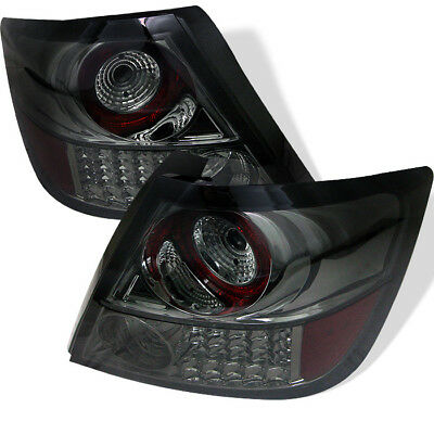 Scion 05-10 TC Smoke Led Transparente Trasero Luces Lámpara Set Base Spec Coupe