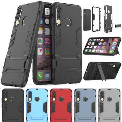 Shockproof Hybrid Hard Armor Stand Case Heavy Duty Cover For Huawei P30 Pro Lite