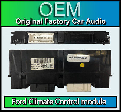 Ford Climate Control Aircon heater module, 7S7T18C612FA, made for HS RNS Sat Nav
