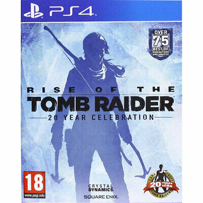 Rise of The Tomb Raider 20 Year Celebration (PS4) New and Sealed Lara Croft