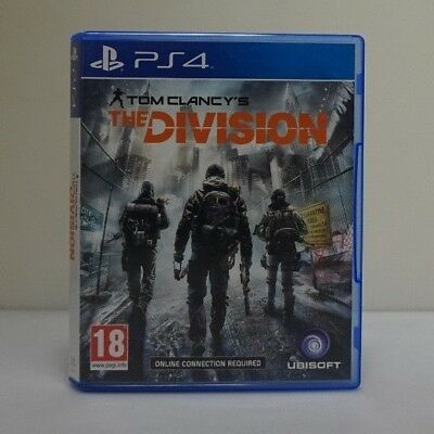 Tom Clancy's The Division Sony Playstation 4 Ps4 Ubisoft