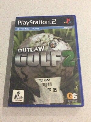 Outlaw Golf 2 Sony PlayStation 2 Console Game PAL PS2